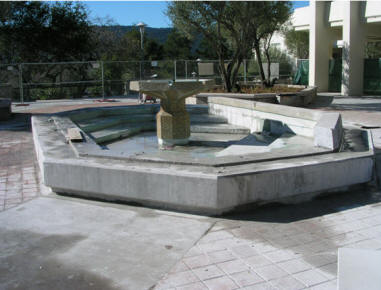 Quad Water Feature